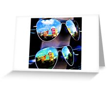 Goggles - Camden Markets - London - England Greeting Card