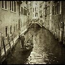 Venice canal by Laurent Hunziker