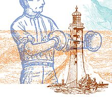 Lighthouse Keeper by brettus