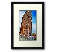 Palace Entrance - Persepolis - Iran Framed Print