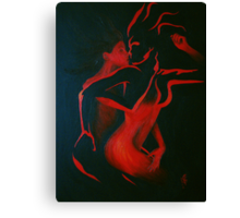 Ravenous Red Canvas Print