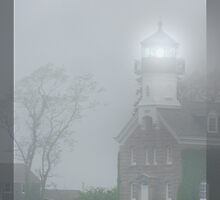Lighthouse in the Fog by bicyclegirl