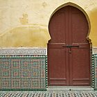 Moroccan Door by Intrepix