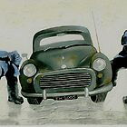 Two Men and a Car by Terry Horton