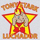 Tony Stark Luchador by Moncs