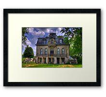 Matthews Mansion - Ellettsville, IN Framed Print