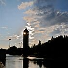 Spokane River Tower by Carl LaCasse
