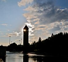 Spokane River Tower by Carl LaCasse