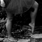 Barefoot Ballerina by MentalPhoto