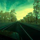 On the road, Albany Hwy near Kojonup, Western Australia by BigAndRed