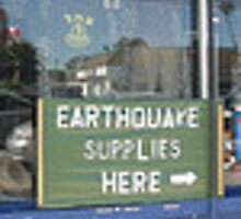 YES, We have Eathquake supplies here by PHOTOCENRTIC