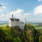 Neuschwanstein Castle by Francesco Carucci