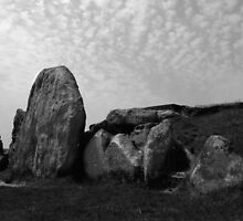 West Kennet Long Barrow #2 by Samantha Higgs