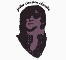 John Cooper Clarke punk poet by liverecs
