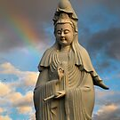 Facing West [Kuan Yin] by Shredman