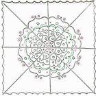Silver Circle Mandala by KazM