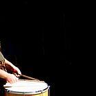 Buchanan Street Drummer by Kareena  Kapitzke