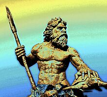 Sea God~King Neptune by Terri~Lynn Bealle