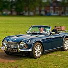 Triumph TR4 by David J Knight