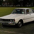 Rover P6 by David J Knight