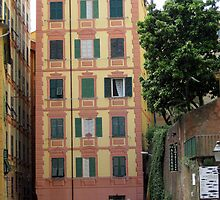 Tower House at Camogli  by sstarlightss