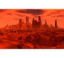 Red Dwarf Greeb Photographic Print