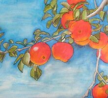 Apples on the Tree by Alexandra Felgate