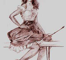 PIN UP ARTIST by Charlotte Sarah Rhodes
