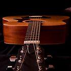 Six string guitar by Sonya Byrne