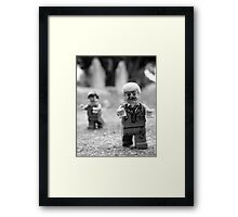 They're coming to get you, Barbara! Framed Print
