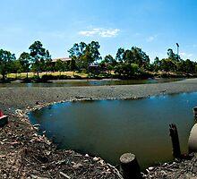 River Torrens Low Tide by Detour