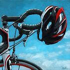 "Bicycle Art - ""Great Day"" by LindaAppleArt"