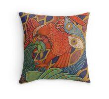 The Harbinger Birds Throw Pillow