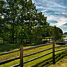 Spring Landscape in NH 2 by Edward Myers