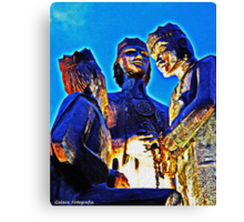 The Three Kings Of Juana Diaz Canvas Print