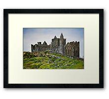 Rock of Cashel, Ireland (Carraig Phadraig) - oil painting Framed Print