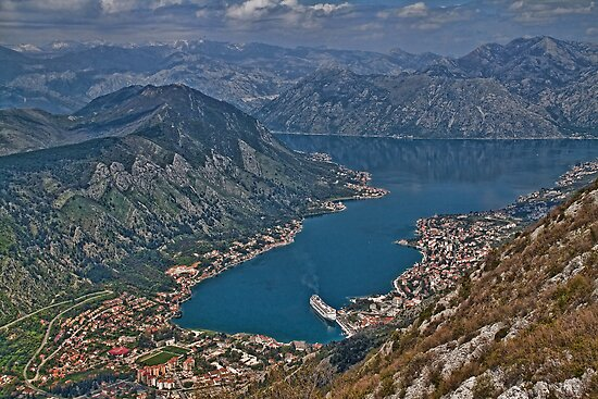 Bay of Kotor, Montenegro by vadim19