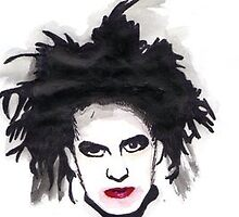 Robert Smith by Kate Flood
