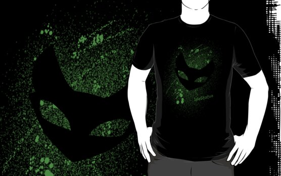 Splatter Shirt Green  by IdleStatus