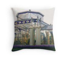Historic Glasshouse, Adelaide Throw Pillow