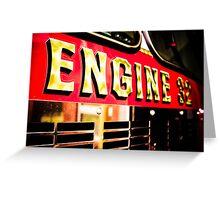 Engine 32 Greeting Card