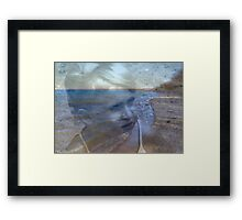 Somewhere A Place...© Framed Print