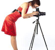 beautiful female photographer by sergeylukianov