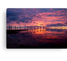 First Light... Canvas Print