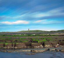 Dunstanburgh Castle panorama by Carl Mickleburgh