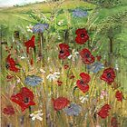 Poppy Field 1 by Carol Rowland