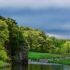 Split Rock Creek Through Palisades State Park by hastypudding