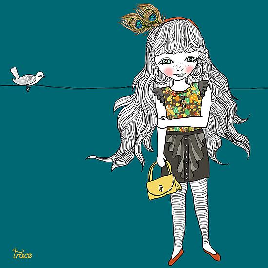 Miss Peacock by GretelGirl