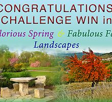 Challeng Win Banner entry...  by bicyclegirl