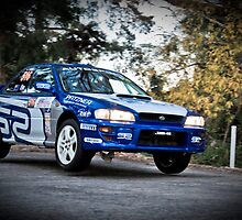 Matthew Else - SS10 Hindmarsh Teirs asp Adelaide Tarmac Rally 2010 by Clintpix